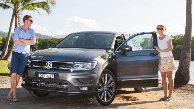 Two critics, one car: Iain, Jules and Tiguan