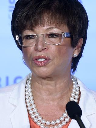 Former White House Senior Adviser Valerie Jarrett.  Picture:  AP