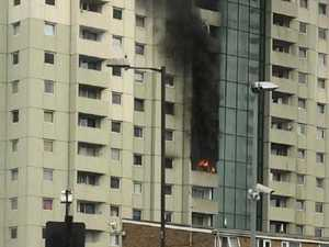Inferno breaks out in London tower block