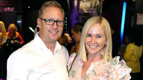 Nikki Parkinson with her husband, Kester Hubbard.