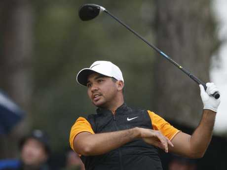 Jason Day had a shocking finish to his second round. Picture: AP