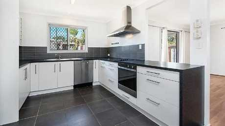 The kitchen in the house at 46 Yorlambu Pde, Maroochydore.