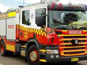 CAR FIRE: Vehicle bursts into flames outside Kawungan home
