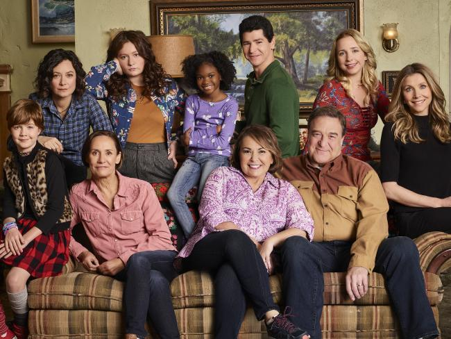 The cast of the Roseanne reboot are doing a spinoff.  Picture:  Supplied