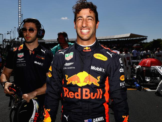 Daniel Ricciardo seems certain to stick with Red Bull. Picture:  Mark Thompson/Getty Images
