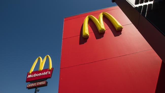 McDonalds. Picture: Glenn Campbell.