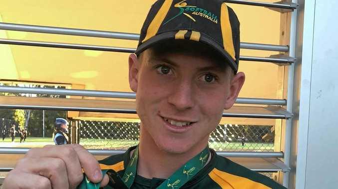 Ipswich teenager's flawless glovework in Aussie win