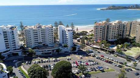 Brisbane Road Carpark redevelopment, Mooloolaba, Sunshine Coast.