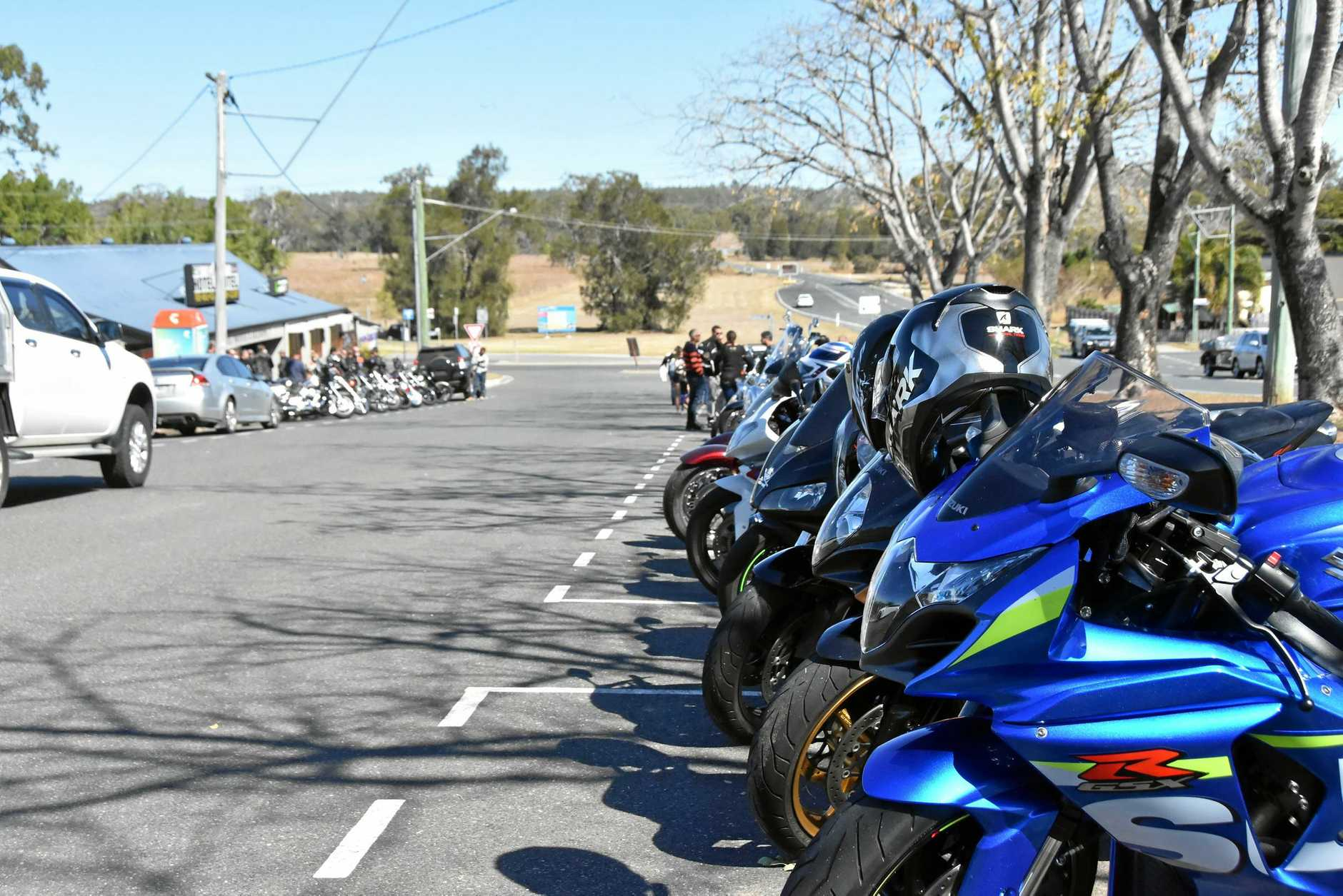 Motorbikes of all shapes and sizes came out to 'Ride for Bailey' around the Gladstone region on July 22 to support Bailey Stone's recovering from a car accident.