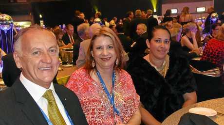 Glenn Churchill, Julia Leu and  Dalassa Yorkston.