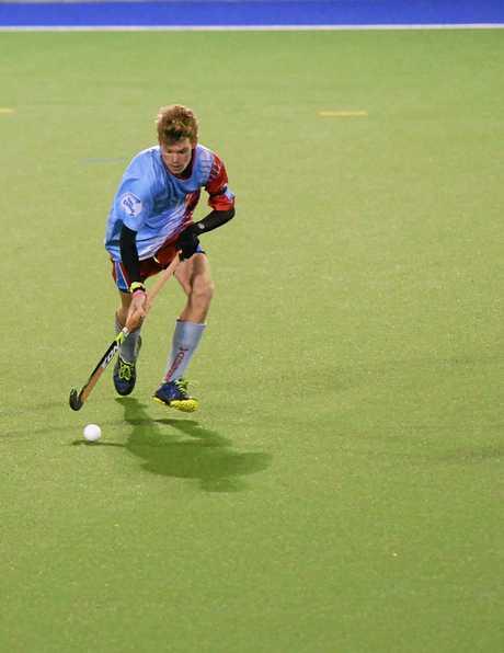 Hockey - Wanderers player CooperJohnson at Kalka Shades