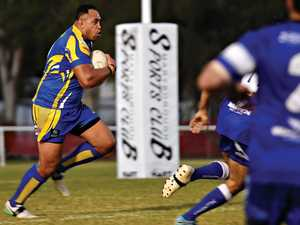 TIGERS FALL AS ROOS CLAIM TITLE: But Kaufusi plays