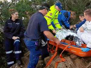 22 rescuers team up to save girl who fell 10m