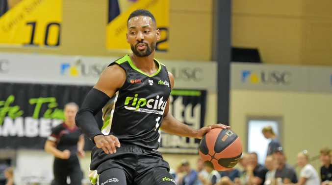 HOT HOOPS:  RIP City player Lance Hurdle scored 36 points during his side's victory over Mackay Meteors on Friday night.