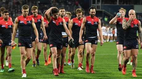 Melbourne was the big loser from the weekend. Picture: AAP