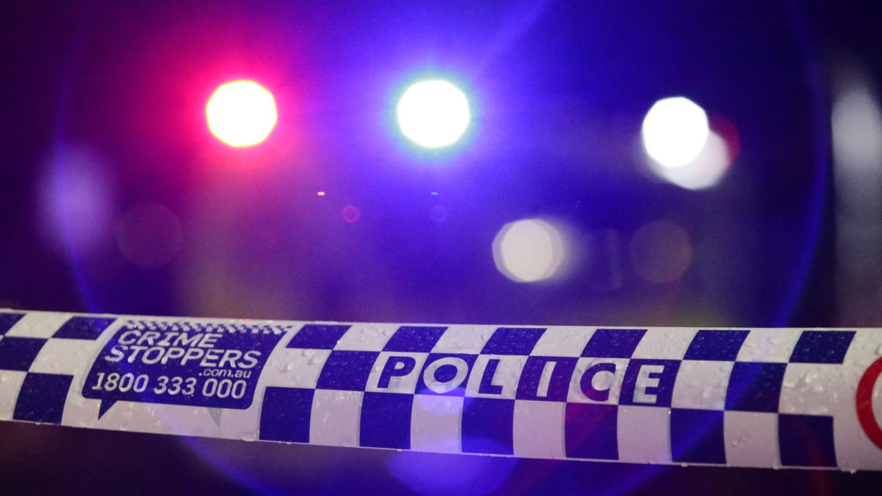 TWO men knocked on the front door of a western Sydney unit before fatally shooting a 46-year-old man in the back, police say.