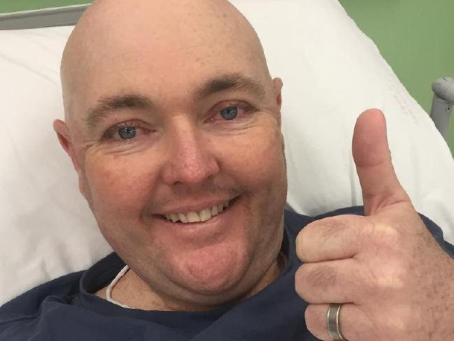 Jarrod Lyle has twice battled and beaten acute myeloid leukaemia. Picture: Instagram
