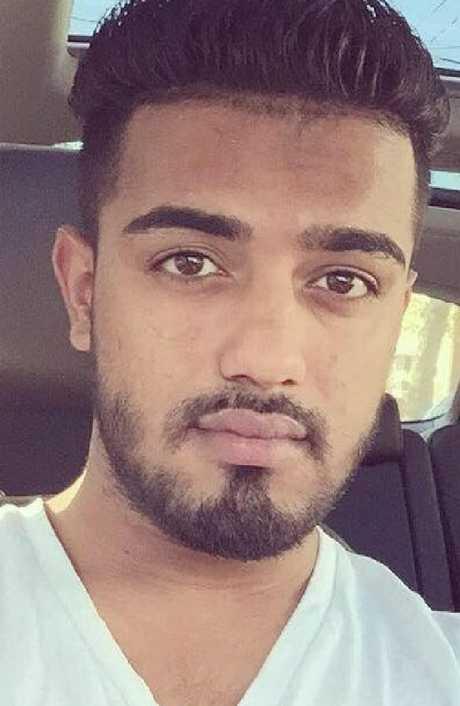 Saeed Ahmad allegedly left Harleen Grewel in die in his car as it burnt. Picture: Facebook