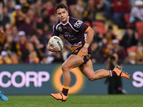 Kodi Nikorima produced a two-try effort in Brisbane's 50-18 thumping of Penrith last Friday night. Picture: AAP Image