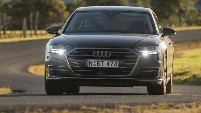 A8 adds 48V mild hybrid tech to bolster the turbo V6s