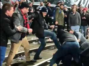 'Ugly, disgusting' brawl shames AFL