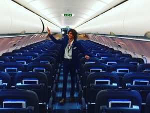 The 21-year-old who flies first class for free