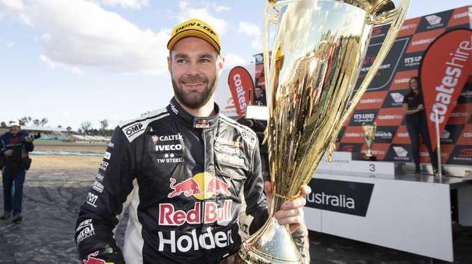 Shane van Gisbergen won Race 20 at the Ipswich SuperSprint.