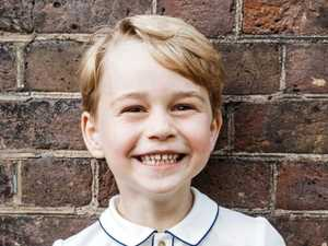 Gorgeous George at five: New  photo released
