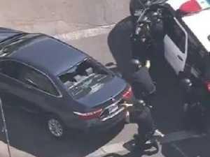 Gunman opens fire in supermarket siege
