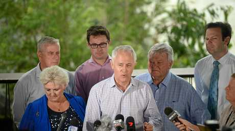 Rookwood Announcement: Prime Minister Malcolm Turnbull, Michelle Landry, Ken O'Dowd, Michael McCormack, Matt Canavan, David Littleproud
