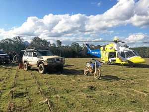 Young boy injured in motorcross accident