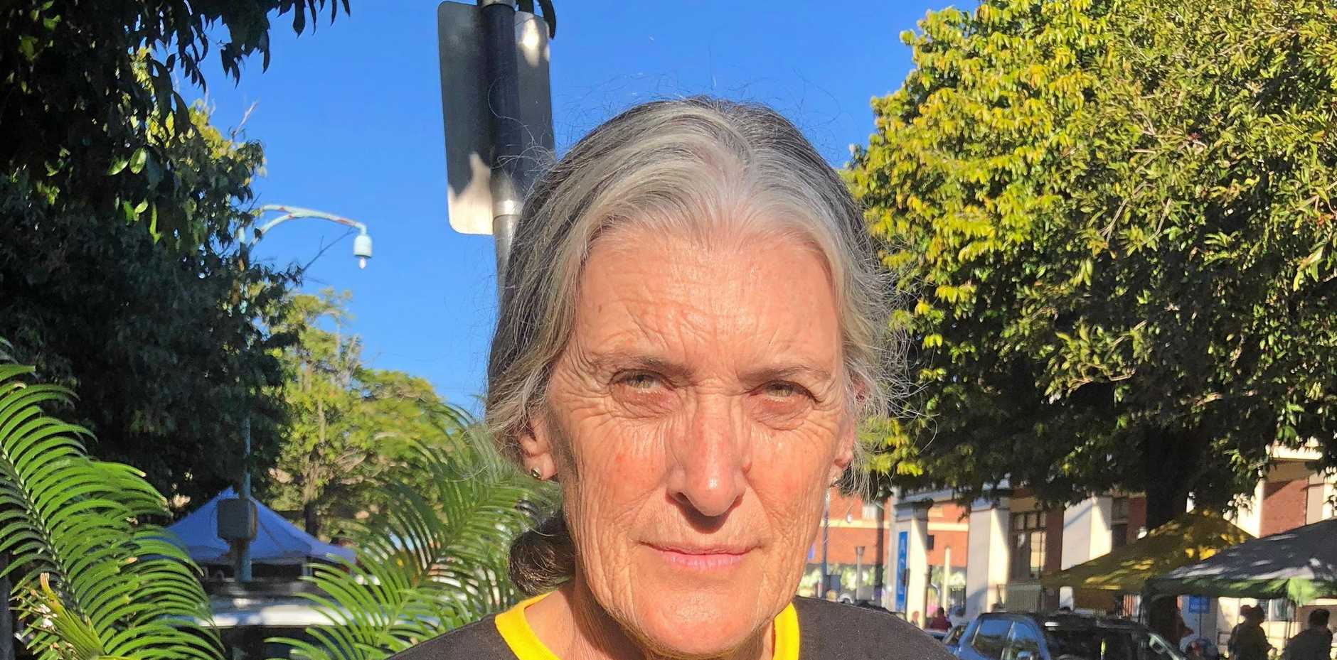 LET THEM STAY: Anne Tuart founder of The Lismore Amnesty Action Group.