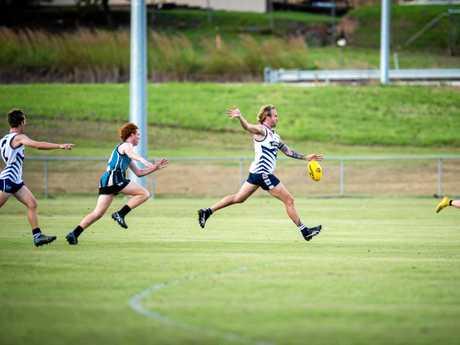 Aussie Rules - Gympie Cats vs Bay Power  - Hayden Graham Cats