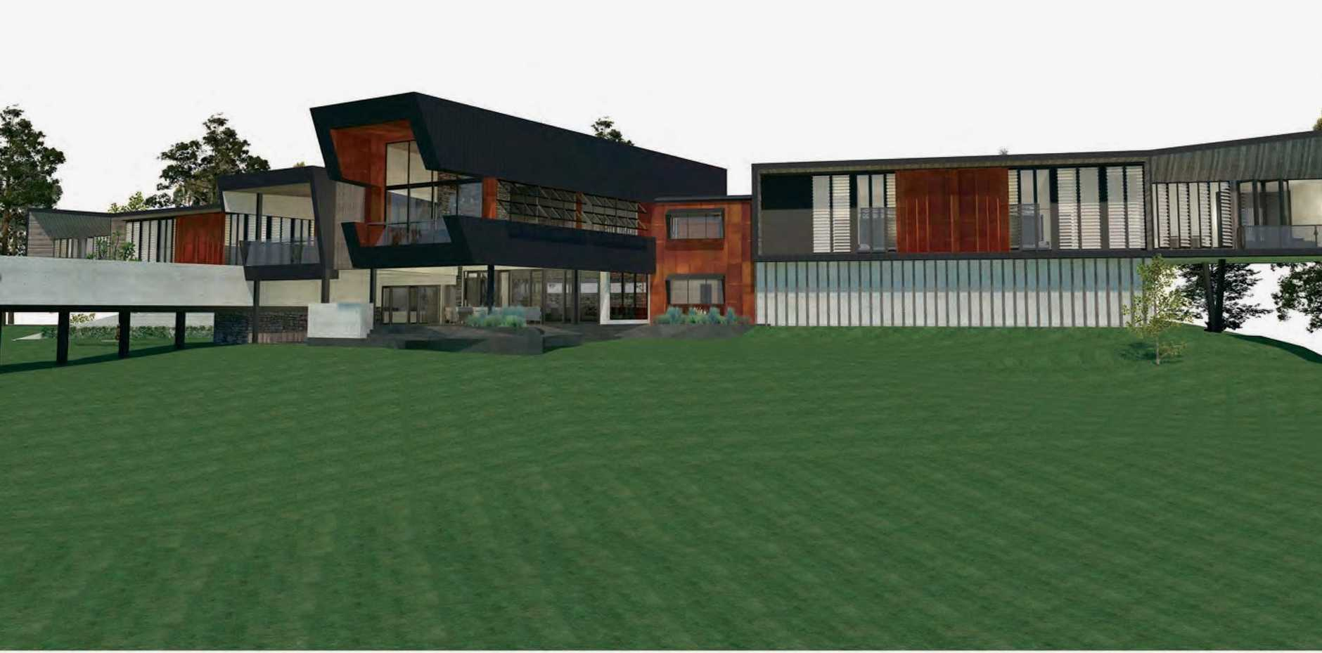 Artist impression of facilities at a proposed $45 million development at Empire Vale.