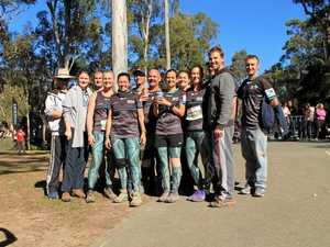 Why eight Gladstone residents walked 96kms in a day