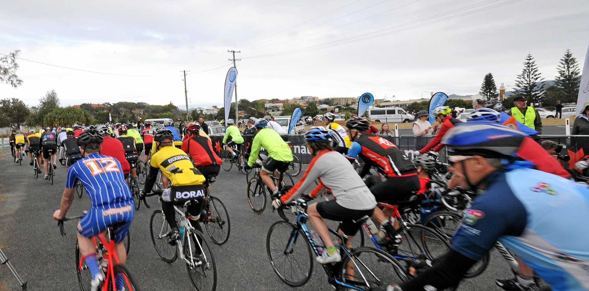 The C.ex McDonald's Cycle Challenge will be held in October.