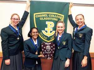 Chanel College quartet wins annual School Business Challenge