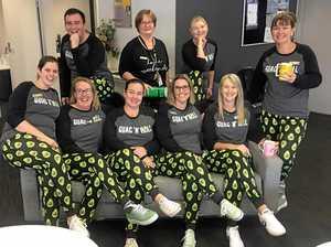 Bank hosts pyjama day to help kids in need