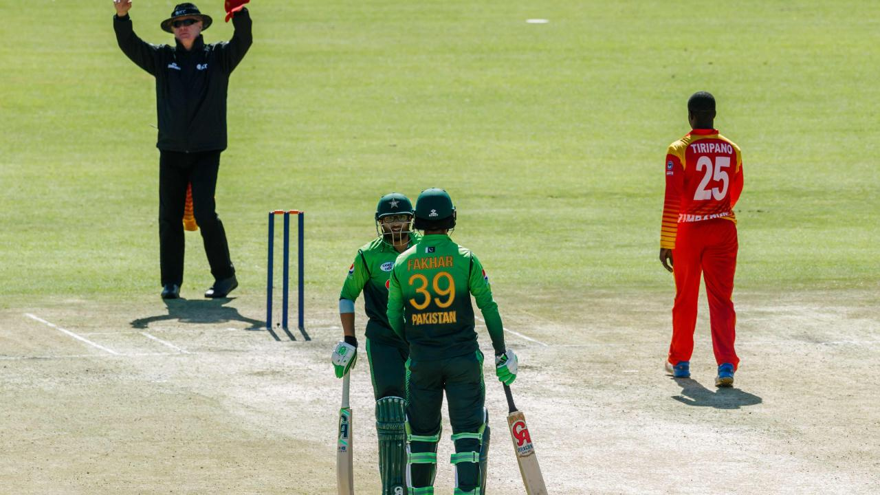 Pakistan's Fakhar Zaman became the fastest player in history to reach 1,000 career runs in one-day international cricket overnight.