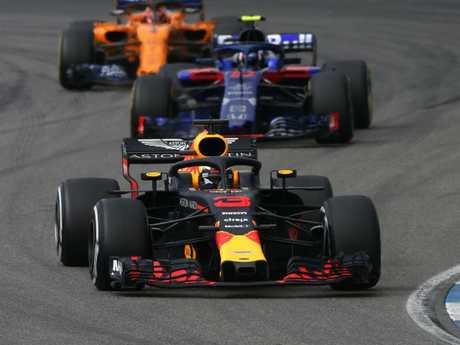 Daniel Ricciardo has been hurt like this before.