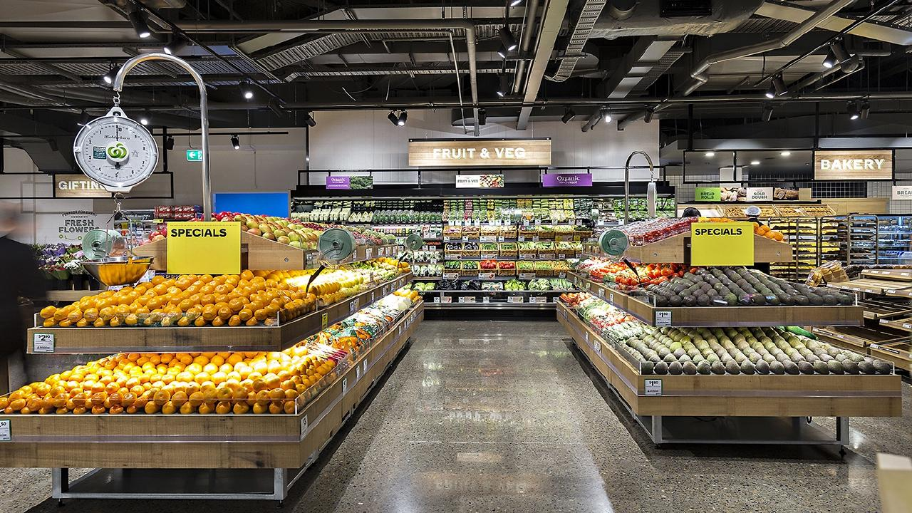 Woolworths' new Pitt St store in Sydney's CBD has just three self-serve check-outs that accept cash out of almost 30.