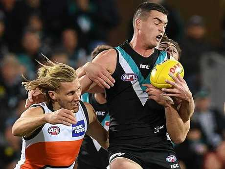 GWS provided too tough an obstacle for Port.