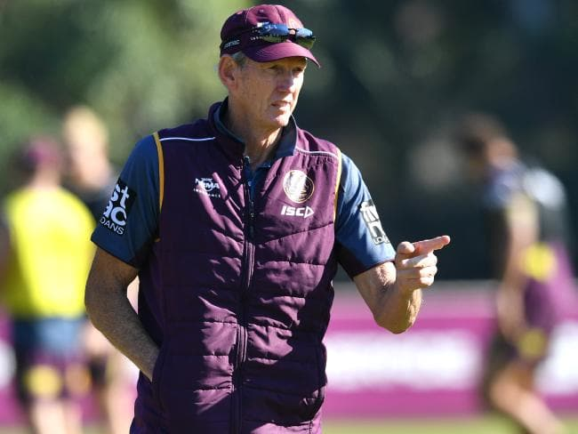 Wayne Bennett's coaching future remains uncertain. Picture: AAP