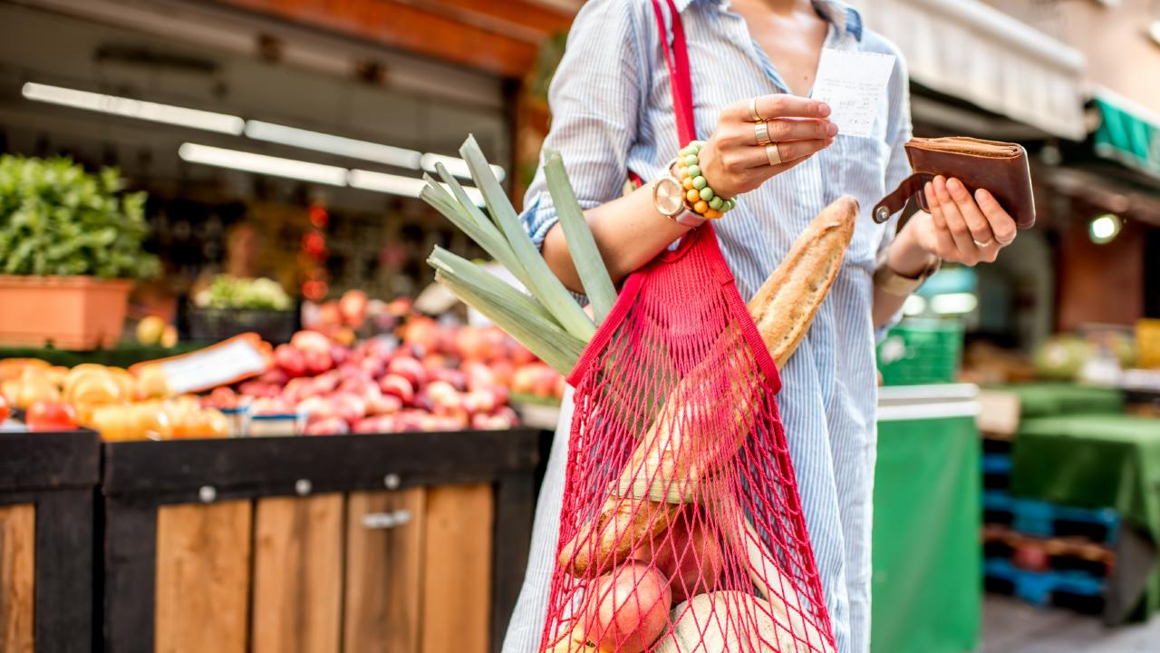 Take your own reusable shopping bags. Picture: iStock