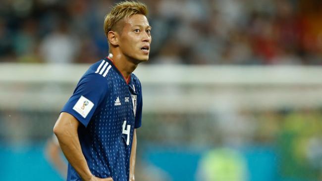 Japan midfielder Keisuke Honda.