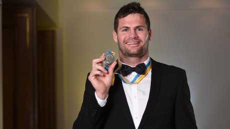 Don won the Paul Broughton Medal as the Titans' best player last season. Photo: Supplied