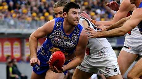 Jeremy McGovern ohas signed a five-year extension. (Photo by Will Russell/AFL Media/Getty Images)