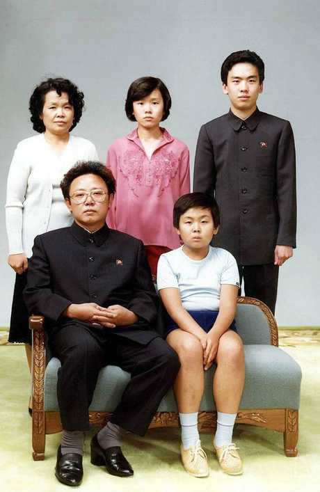 Half brother Kim Jong-nam front, right with father Kim Jong-il on the couch) would come to a sticky end.