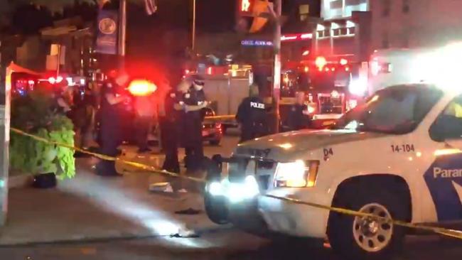 Toronto shooting: 'Victims are spread across many blocks'