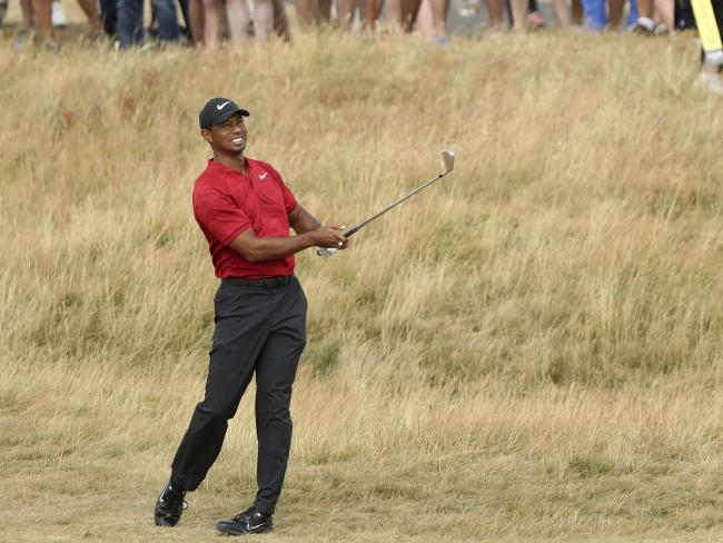 Tiger Woods couldn't quite produce the miracle he was hoping for.